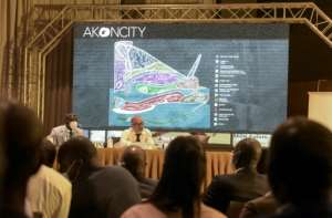 Akon City will offer hotels, a university, hospitals, business and leisure centres including a casino, as well as movie studios, all featuring futuristic designs by architect Hussein Bakri, with African sculptures for inspiration.  By Seyllou (AFP)