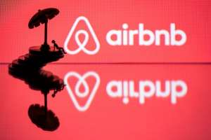 Airbnb has responded to a Paris official's proposal to ban the rent-a-room giant in the French capital.  By JOEL SAGET (AFP/File)