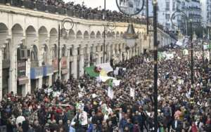 Algerian protesters want a total revamp of the political establishment.  By RYAD KRAMDI (AFP)