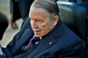 Algerian President Abdelaziz Bouteflika has been frail since suffering a stroke in 2013.  By RYAD KRAMDI (AFP)
