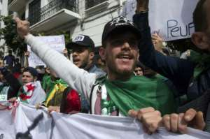 Algerian students say they will not stop protesting until the political system changes.  By - (AFP)
