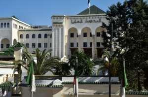 Algeria's supreme court in the capital's Algiers el-Biar suburb.  By RYAD KRAMDI (AFP)