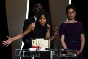 Another Parisian Mati Diop won the Grand Prix for her film 'Atlantics (Atlantique)' at the 2019 Cannes Film Festival.  By CHRISTOPHE SIMON (AFP/File)