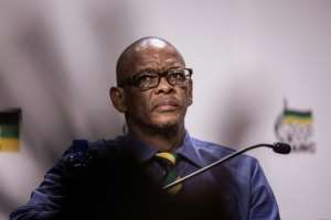 ANC's Secretary General Ace Magashule has insisted he is not corrupt after claims he looted state coffers. By GIANLUIGI GUERCIA (AFP/File)