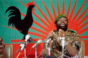 Angolan rebel chief Jonas Savimbi rallied his supporters in UNITA's onetime stronghold of Jamba, Cuando Cubango province.  By Trevor Samson (AFP/File)