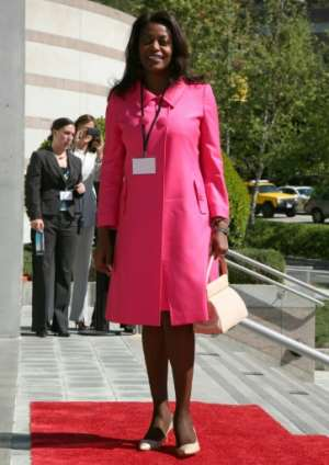 Angola's First Lady Ana Paula Dos Santos, seen here in Los Angeles in 2009. Angela Weiss/Getty Images.  By Angela Weiss (GETTY IMAGES NORTH AMERICA/AFP)