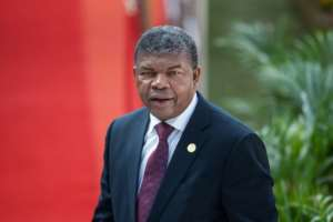 Angola's President Joao Manuel Goncalves Lourenco, seen here in May 2019, has won praise for his democratic reforms.  By Michele Spatari (AFP/File)