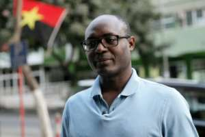 Anti-corruption campaigner and journalist Rafael Marques met Angolan President Joao Lourenco to discuss the issue of graft.  By AMPE ROGERIO (AFP/File)