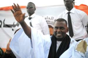 Anti-slavery activist Biram Ould Dah Ould Abeid won a seat despite being jailed for more than a month.  By SEYLLOU (AFP/File)