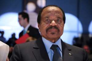 As tensions in the anglophone regions rose, President Paul Biya, 87, vetoed appeals by moderates for a return to Cameroon's federal system.  By Ludovic MARIN (AFP)