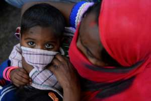 As health facilities in even rich countries buckle under the pressure, aid groups warn the toll could be in the millions in low-income countries.  By SAJJAD HUSSAIN (AFP)