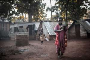 Around 1,500 Muslims took refuge in the Catholic seminary in Bangassou -- two years later, some are starting to return home as a semblance of peace returns to the city.  By FLORENT VERGNES (AFP)