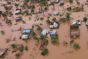 Around 2,000 people have been rescued from Buzi, a town which aid agencies feared had been wipped out by the floods in Mozambique.  By ADRIEN BARBIER (AFP/File)