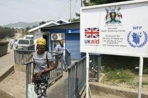 Around 25,000 people cross at Mpondwe daily.  By ISAAC KASAMANI (AFP)