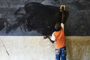 Around 55 percent of children in the central Sahel region are not in school.  By MICHELE CATTANI (AFP)