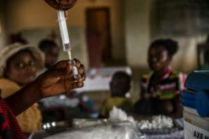 Around 73,000 children from six months to 15 years old will need to be vaccinated in Kongo province central as part of the second phase.  By JUNIOR KANNAH (AFP)