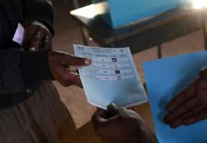 Around 931,000 of the country's 2.2 million people are registered to vote.  By Monirul Bhuiyan (AFP)