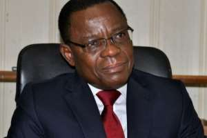 Arrested Cameroon opposition leader Maurice Kamto (pictured August 2018) was warned that he was leading the Bamileke people to a similar fate of Jews murdered in the Second World War.  By Reinnier KAZE (AFP/File)