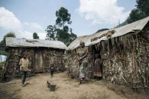 Away from the Ebola headlines, tens of thousands of people are scattered in squalid camps across the mountains around Masisi.  By ALEXIS HUGUET (AFP)
