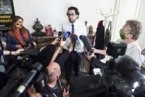 At a press conference Sunday in Nantes, lawyer Quentin Chabert declined to elaborate on why his client had tried to burn down the cathedral..  By Sebastien SALOM-GOMIS (AFP)