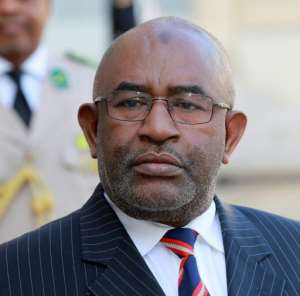 Azali, a former colonel, has been in power three times -- critics say he wants to extend his time in office by reworking the constitution.  By JACQUES DEMARTHON (AFP)