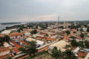 Bangui, capital of the Central African Republic.  By EDOUARD DROPSY (AFP/File)