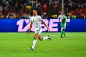 Baghdad Bounedjah's second-minute goal gave Algeria their second Africa Cup of Nations title.  By Giuseppe CACACE (AFP)