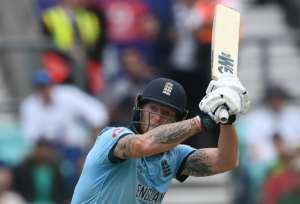Ben Stokes hit 89 for England in their World Cup opener against South Africa.  By Dibyangshu SARKAR (AFP)