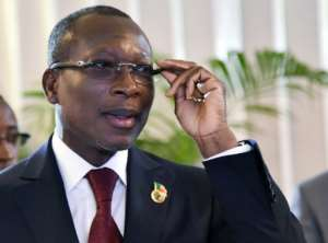 Benin President Patrice Talon said he was putting promised constitutional reforms on hold.  By Sia KAMBOU (AFP/File)