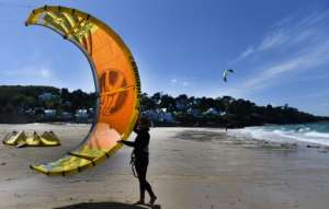 Beaches are open again across much of France as the country eases its coronavirus restrictions.  By Fred TANNEAU (AFP)