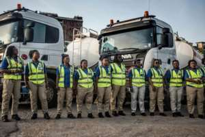 Behind the setting up of the all-female truck driving company was a need to try to stop the theft of fuel out of the tankers while en route.  By CRISTINA ALDEHUELA (AFP)