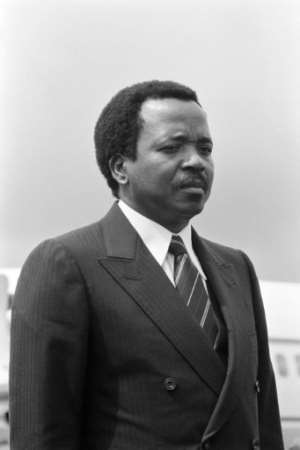 Biya has ruled Cameroon for 37 years and ruled out any moves towards federalism.  By Pierre GUILLAUD (AFP/File)