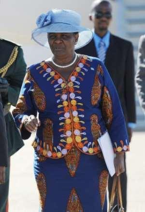 Botswana's former foreign minister Pelonomi Venson-Moitoi enjoys the backing of Masisi's predecessor and rival, Ian Khama. By MONIRUL BHUIYAN (AFP/File)