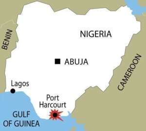 Port Harcourt is the capital of Rivers state.  By  (AFP/Graphics)