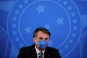 Brazilian President Jair Bolsonaro has been slammed for his response to the coronavirus crisis.  By Sergio LIMA (AFP/File)
