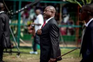 Burundi's former president Pierre Nkurunziza died suddenly at the age of 55.  By Marco LONGARI (AFP/File)