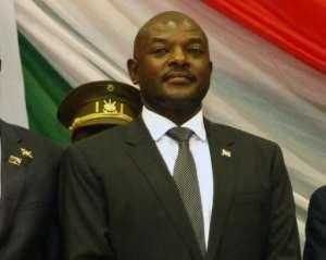 Burundi's President Pierre Nkurunziza has been in power since 2005