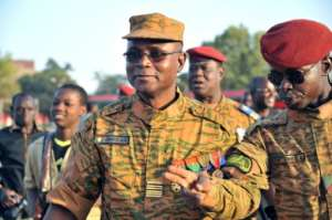 Burkina Faso's army Chief Oumarou Sadou has been replaced.  By Ahmed OUOBA (AFP)