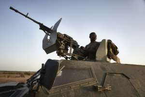 Burkina Faso's army have been fighting against an Islamist insurgency for the last five years.  By MICHELE CATTANI (AFP)
