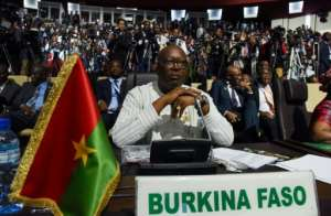 Burkina Faso's President Roch Marc Christian Kabore urged the country to stand together in the fight against