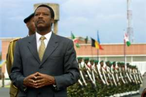 Burundi's former president Pierre Buyoya first came to power in Burundi in a coup in 1987.  By PEDRO UGARTE (AFP/File)