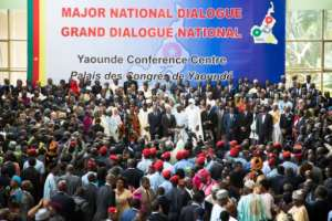 Cameroon's grand national dialogue over the status of anglophone regions in a mostly francophone state opens a month ago.  By Stringer (AFP/File)