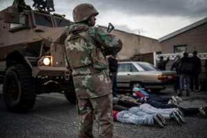 Cape Flats has become one of the most dangerous places in South Africa, underpinned by gangsterism and under-resourced policing.  By MARCO LONGARI (AFP)