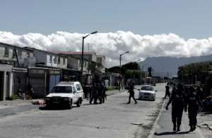 Cape Town has the highest murder rate in the country.  By PIETER BAUERMEISTER (AFP/File)
