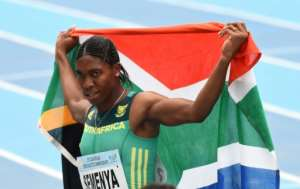 Caster Semenya has protested that she is