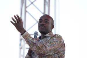 Chamisa has performed strongly on the campaign trail.  By Zinyange AUNTONY (AFP/File)