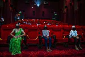 Cinemas that have re-opened in India have strict anti-coronavirus guidelines like social distancing.  By Prakash SINGH (AFP)