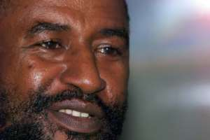 Comoros' President Azali Assoumani, seen here in 1999 when he first came to power following a military coup he led while serving as the army's chief of staff.  By ALEXANDER JOE (AFP/File)