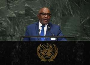Comoros' President Azali Assoumani won a referendum in July allowing him to scrap the rotation of the presidency between Comoros' three main islands after one term. Opposition-leaning Anjouan had been next in line.  By TIMOTHY A. CLARY (AFP/File)
