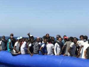 Concern has risen over Libya's migration centres.  By Anne CHAON (AFP)